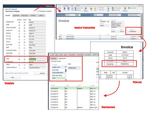 rename  field labels  quickbooks template solarsys