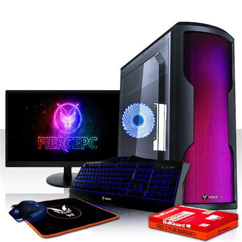 buy fierce exile gaming pc desktop computer