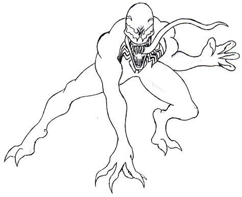 color sheets venom coloring pages coloringsuite