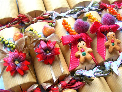 luxury christmas crackers polymer clay christmas by