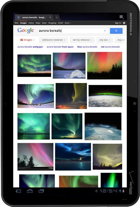 google search web  tablets