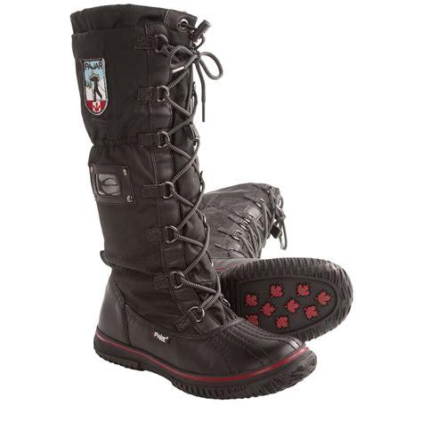 pajar grip high winter snow boots  women  save