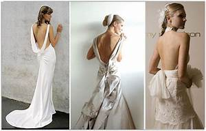 gorgeous wedding dresses with low backs and lace or With wedding dresses with dramatic backs