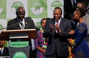 President Kenyatta wins Kenya's election, say officials ...