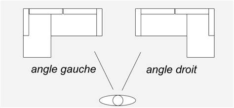 taille canapé angle canapé d 39 angle droit ou gauche