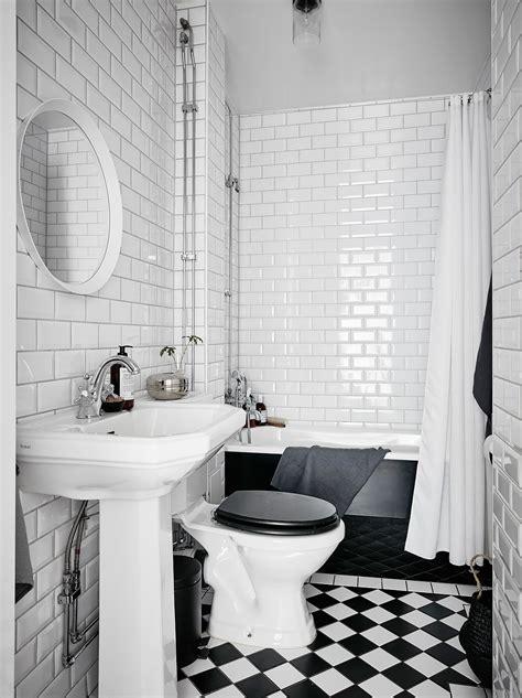 tegels badkamer zwart wit klassieke zwart wit badkamer badkamers voorbeelden