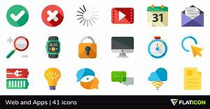 Web And Apps 41 Free Icons  Svg  Eps  Psd  Png Files