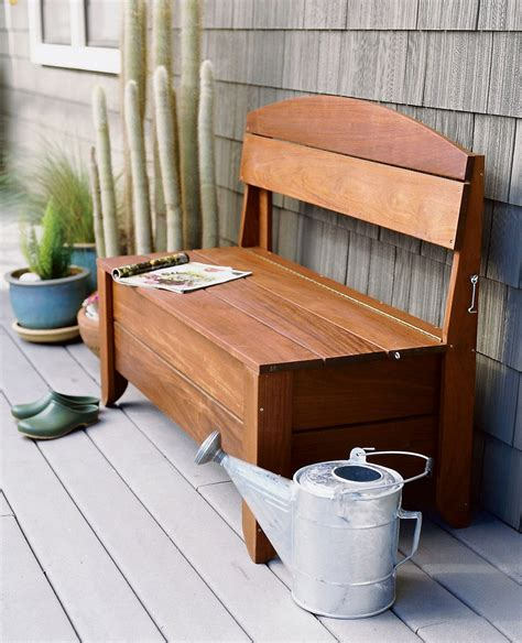 benches with storage outdoor bench seating with storage plans