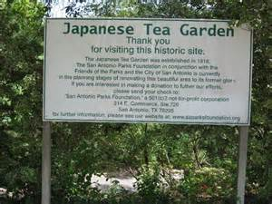 japanese tea gardens sunken gardens san antonio