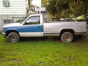 Sell Used 1990 Chevy Silverado 4x4 Standard Cab In