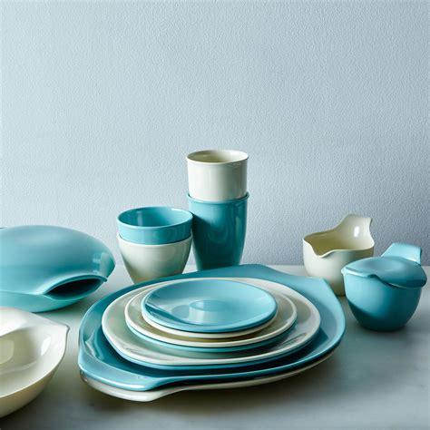 melamine dinnerware serveware wright russel sets food52 dishes dinner modern plates u0026 hazel