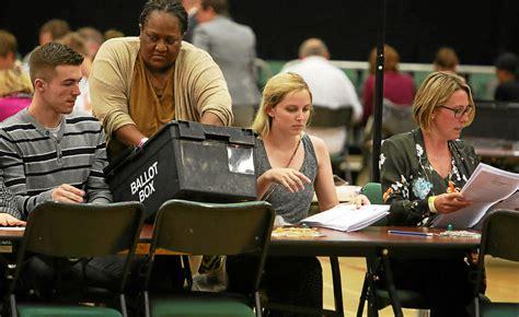 les bureaux de vote londres theresa may perd pari monde letelegramme fr