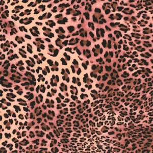 Pink And Brown Leopard Print