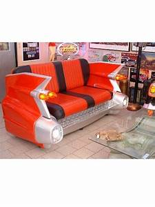 canape cadillac mobilier usa fifties With mobilier canapé
