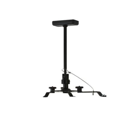 Diy Projector Mount Drop Ceiling by B Tech Projector Ceiling Mount With Drop Black