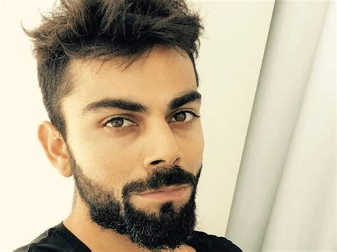 Kohli Hairstyle Hairstyles Of Some Stylish Indian Cricketers Bblunt