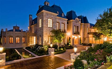 Chateau Style Homes by Chateau Style Home Country Style Homes