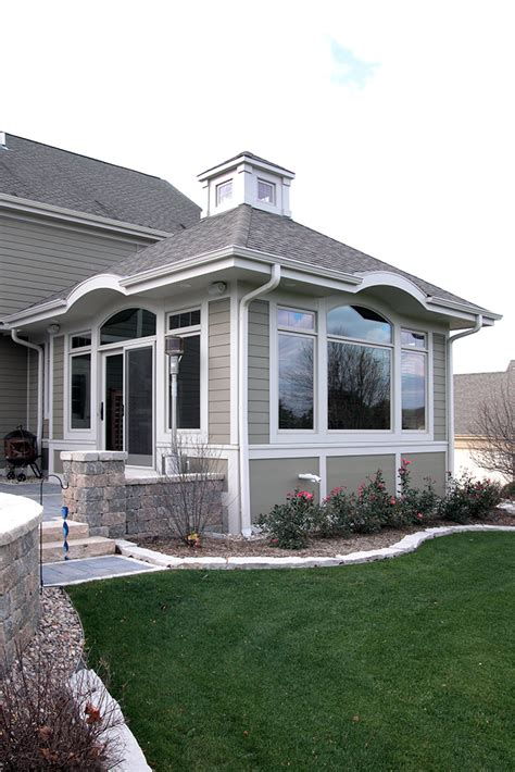 inviting sunroom addition bartelt  remodeling resource