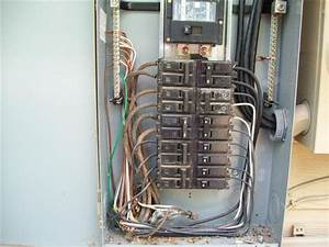Electric Panel With Disconect