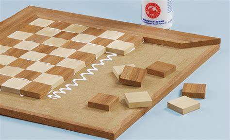 schachbrett selber bauen schach spielbrett selbst de