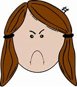 Angry Face Clip Art