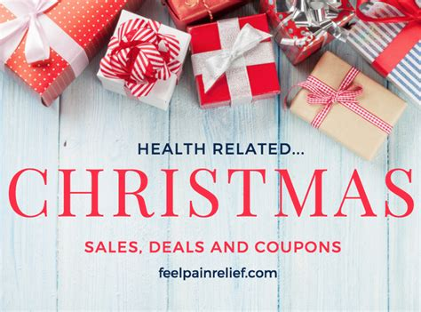 christmas health deals 2018 feel pain relief
