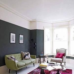 pinterest o le catalogue d39idees With peindre un mur de couleur dans un salon 1 peindre un plafond avec une peinture couleur deco