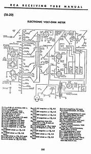Electronic Volt-ohm Meter Schematic