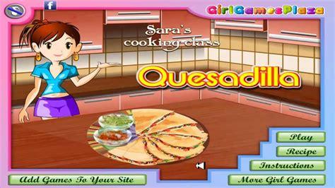 Juegos De Chicas Aprendiendo A Cocinar Con Sara Kiz10com