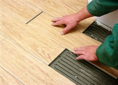 wood plank tile installation how to install porcelain ceramic tile