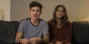 YouTube Exes Kian Lawley & Andrea Russett Kiss & Cuddle in ...