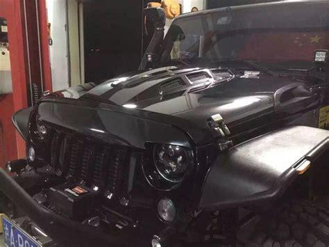 jeep avenger hood jeep jk wrangler avenger hood bonnet with real carbon