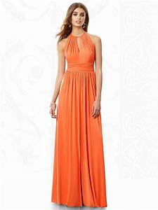 orange bridesmaid dress fashion show collection With orange dresses for wedding