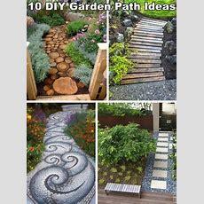 10 Unique And Creative Diy Garden Path Ideas