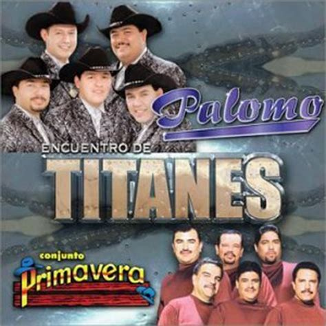 Palomo, Conjunto Primavera  Encuentro De Titanes Amazon