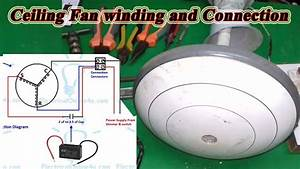 Ceiling Fan Winding And Connection