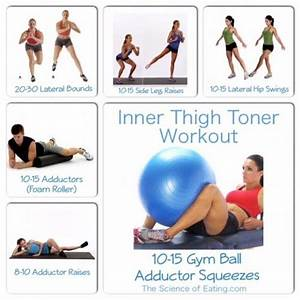 If you need to work on jiggling thighs here's the workout ...