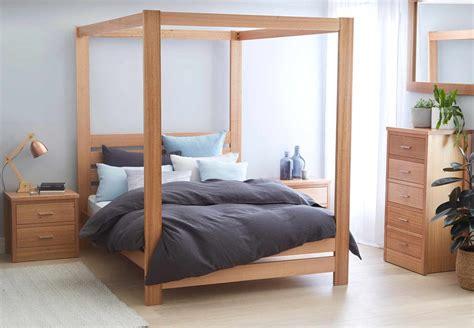 Springwood Bed Frame (4 Poster) Natural