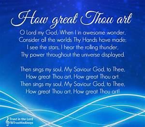 Seeking Jesus: How Great Thou Art