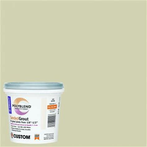 bone grout custom building products polyblend 382 bone 1 lb sanded grout pbg3821 the home depot