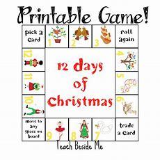 12 Days Of Christmas Printable Game  Teach Beside Me