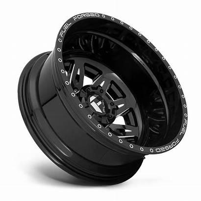 Wheels Dually Fuel Rear Lug Wheel Rims