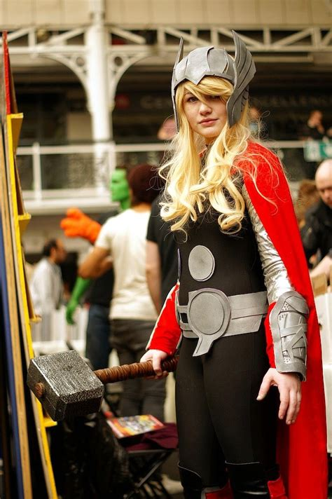 17 Best Ideas About Female Thor Costume On Pinterest