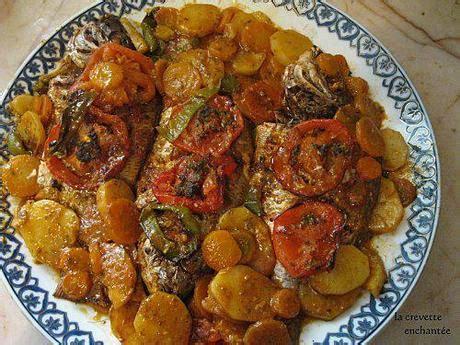 poisson cuisine marocaine cuisine marocaine poisson au four paperblog