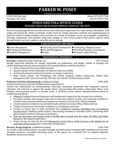 Interior Design Director Resume by Design Director Resume