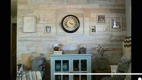 stickman living room walkthrough diy peel and stick wood planked wall