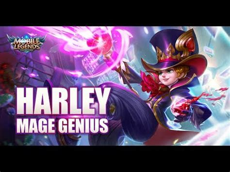 mobile legends bang bang  hero mage genius harley