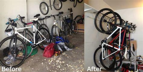 Bike Hanging Wall Storage Rack