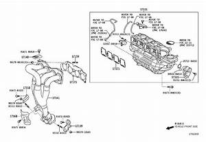 2010 Toyota Highlander Catalytic Converter With Integrated Exhaust Manifold