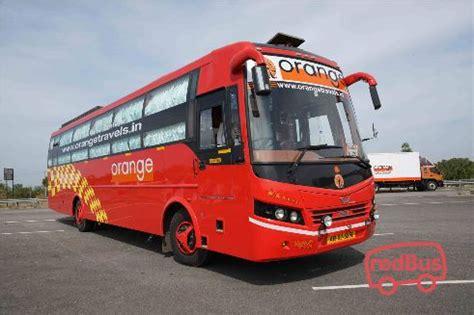 orange travels  bus ticket booking bus reservation